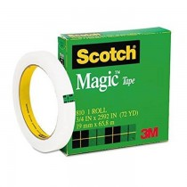 3M Scotch Magic Tape 34 x 72 yards