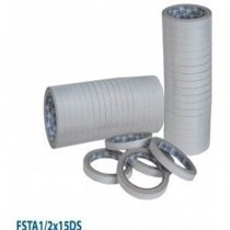 FIS FSTA12X15DS Double Sided Tape  12 x 15 Yards