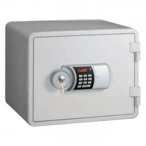 Eagle YESM-015K Fire Resistant Safe  Digital And Key Lock (White)