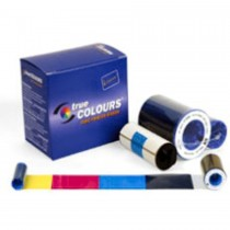 Zebra ID Card Ribbon - ZXP Series 8 I Series YMCKK Color Ribbon, 500 print images per roll.